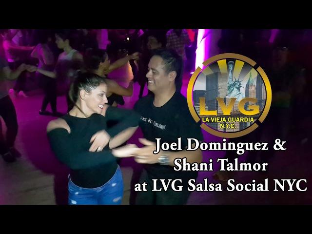 Joel Dominguez Shani Talmor at LVG Salsa Social NYC