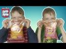 Обычная ЕДА ПРОТИВ ЧИПСОВ LAYS Челлендж! Real Food vs Gummy Food! БРОС ШОУ