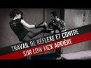Kick Boxing : Low Kick Arrière - Travail de Réflexe et Contre