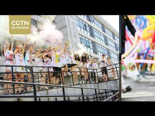 Самые креативные фоторграфии выпускников китайских университетов