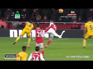 Арсенал - Кристал Пэлас 1:0. Супер-гол Жиру