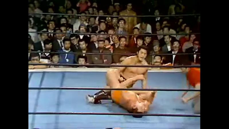 Antonio Inoki vs. Seiji Sakaguchi (4-28-74)