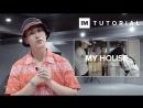 1Million dance studio My House - Flo Rida | Dance Tutorial