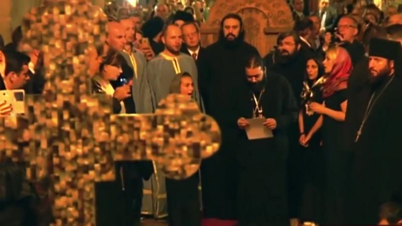 Отец Серафим арамейский язык სვეტიცხოველში მამა სერაფიმეს არამეულ ენაზე გალობამ რომის პაპი აატირა HD