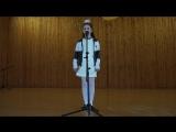 Геворгян Рита - исполнитель  песни Уитни Хьюстон (преподаватель вокала -  Глузская Алевтина)