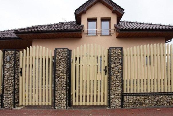 Бизнес-идея: Забор из габионов — защита и декоративное оформление учас