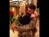 Внезапное возвращение парня из армии