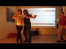 "Сальса ЛА в антикафе О""Лень от Романа и Анастасии - школа танцев QB!"