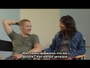 Jeremy Renner and Gabrielle Union Neo Ned Interview (русские субтитры)