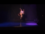 Pole Theatre USA 2015 - Kirsten Gerding - Amateur Pole Drama Champion