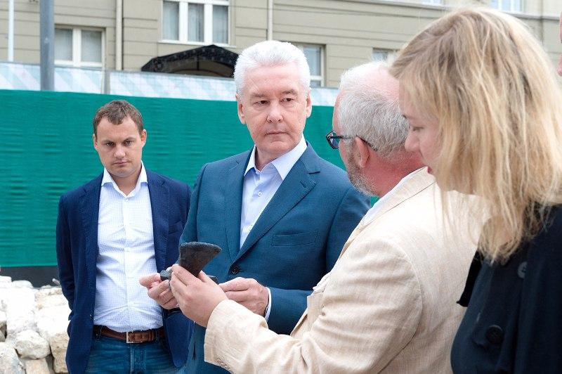 Сергей Собянин посетил ремонтные работы
