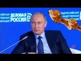 Путин про мирных собачек
