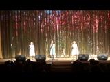 Омарбекова Милана, Невдашова Таня, Алиса Тутунжан. Творческий отчет 2016