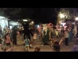 Баба Яга танцует
