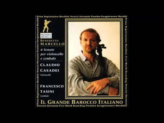 B. Marcello Sei Sonate per violoncello e cembalo