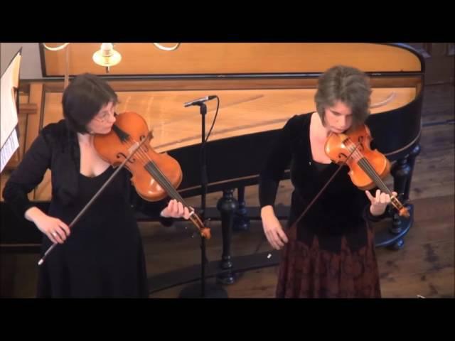 G. P. Telemann: Sonate F-Dur, TWV 43.F4 f. 2 Violinen, Viola und Basso continuo, Bachmuseum Leipzig