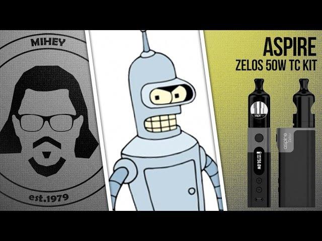 Aspire Zelos 50W kit. Сигаретная необслуга.