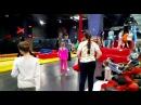 Выступление в батутном парке Разгон | Екатеринбург | Воздушная гимнастика на пол