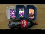 Samsung Galaxy A7 vs A5 vs A3 (2016) - Coca-Cola Test (4K)