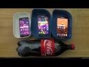 Samsung Galaxy A7 vs A5 vs A3 (2016) - Coca-Cola Test (4K)
