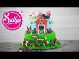 Bauernhof Torte / Farmer Fondant Cake / Elas Geburtstag