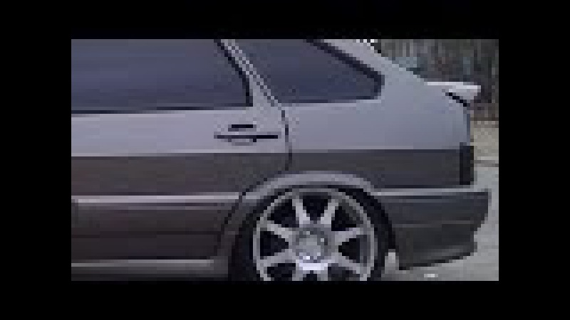 ВАЗ 2114 Лада/Lada - тюнинг (гибрид музыки с колёсами)
