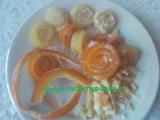 Цукаты из апельсиновых и лимонных корок Candied fruits from orange and lemon crusts