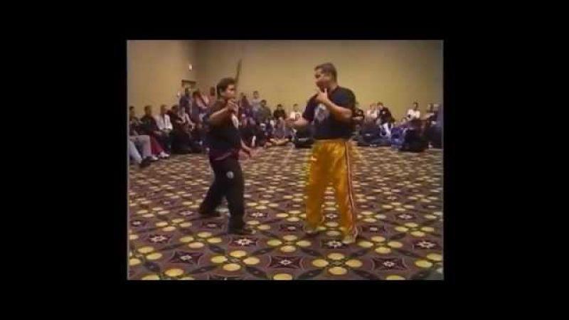 GGM Ernesto Presas and Grandmaster Ernesto Preass Jr at World Head of Family Sokeship Council 2001