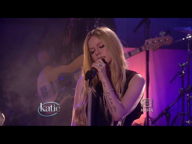 Avril Lavigne Katie Couric Interview 08 11 2013