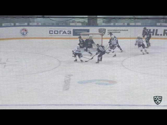 КХЛ (Континентальная хоккейная лига) - Моменты из матчей КХЛ сезона 16/17 - Гол. 0:1. Толузаков Фили