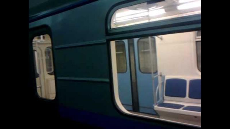 81-717/714.6К обкатка в московском метро - train