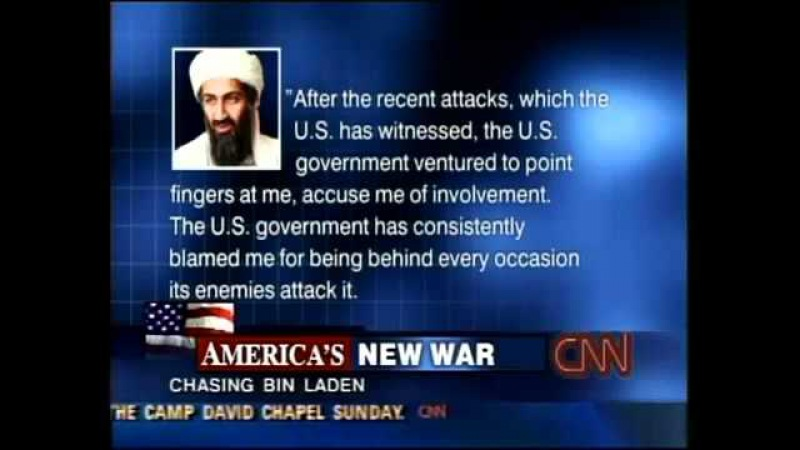 Osama Bin Laden Releases Statement Denying Responsibility for 9/11 Attackss