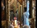 Иеродиакон Алексий Писанюк за богослужением в Троице-Сергиевой Лавре