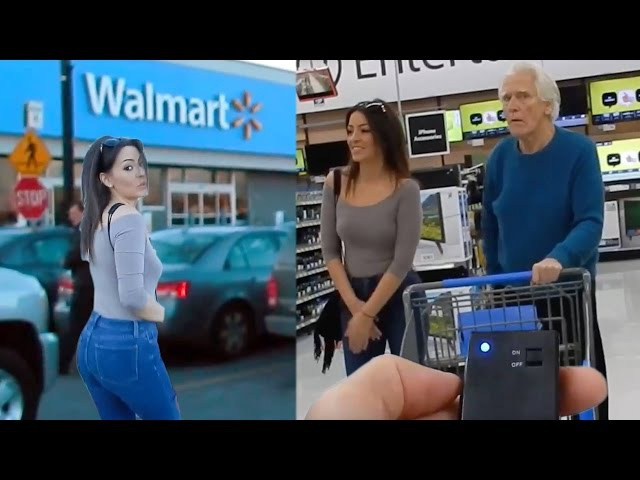 Vibrating Panties Prank On Girlfriend!PART 2 INSIDE WALMART!