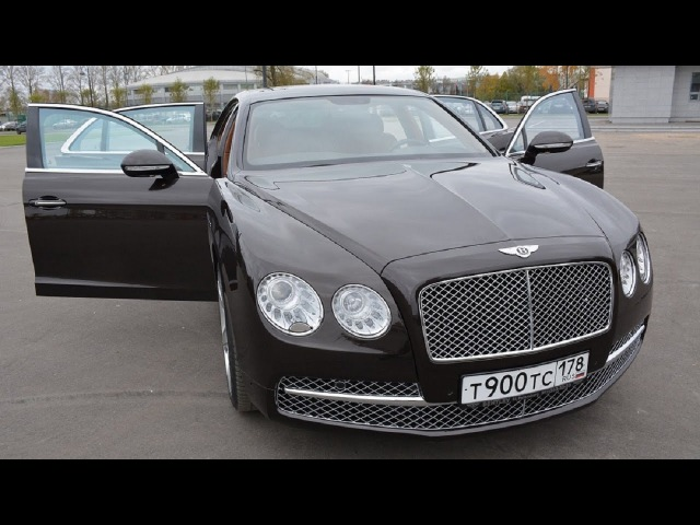 Bentley Flying Spur - Глав тест-драйв / Glav Test Drive
