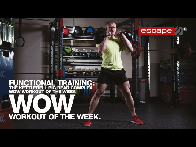 Functional Training: The Kettlebell Big Bear Complex Workout of the Week functional training: the kettlebell big bear complex wo