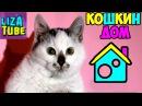КОТЯТА в коробках и Лиза ✿ КАРАМЕЛЬКА выздоровела! Домик для кошки Funny pet
