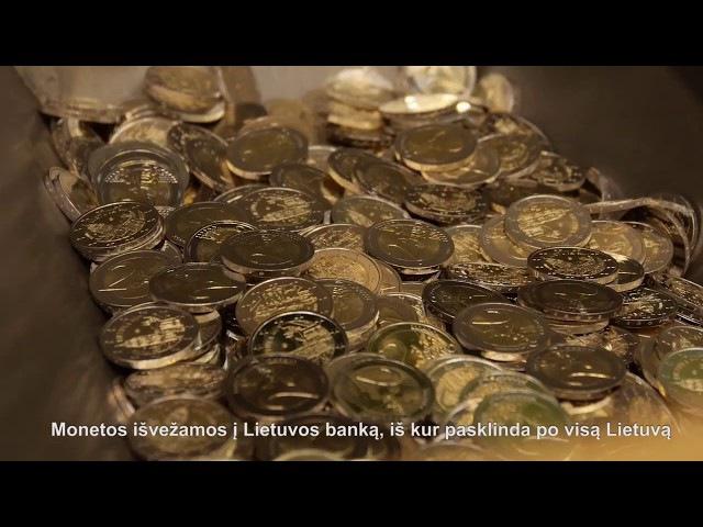 Moneda de 2 euros conmemorativa de Lituania, Ciudad de Vilna