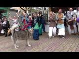 Харе Кришна - Собака впала в транс