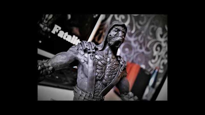 Tremor sculpture. Mortal kombat X