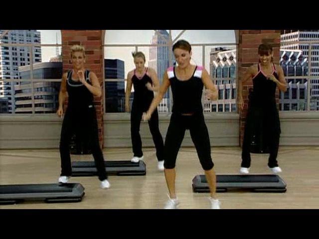 Cathe Friedrich - STS Shock Cardio - Athletic Step (48 min) (Fitness) DVDRip TG