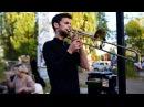 Amazing Live Trombone Tribal Lounge Music 16PROD in Berlin Germany