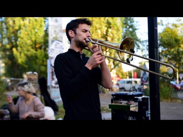 Amazing Live Trombone Tribal Lounge Music 16PROD in Berlin, Germany