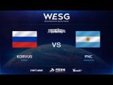 [RU] PNC vs Korvus, 2016 WESG HS Grand Final presented by Alipay