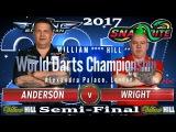 2017 William Hill World Darts Championship Gary Anderson v Peter Wright Semi-Final
