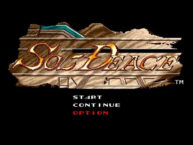 Sol Deace - Sega Genesis Longplay