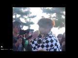 FANCAM. Romeo. (Юнсон кавер XIA-Yesterday)( Pandora TV)  (19.03.17)