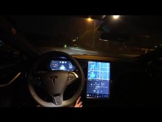 Новая версия автопилота Tesla