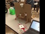 Дети создали программу, которая считает очки при бросках в корзину