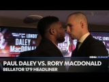 Paul Daley and Rory MacDonald face to face